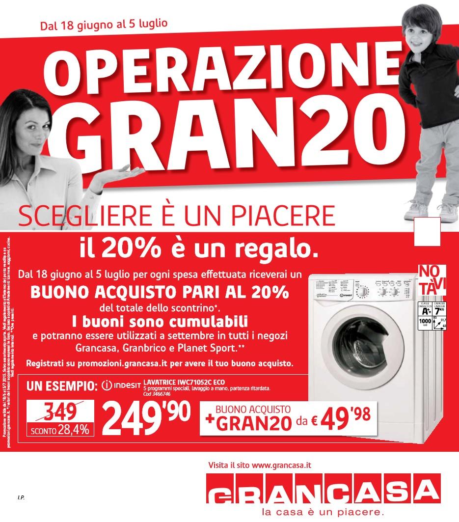 Volantino grancasa offerte al 5 luglio 2015 volantino az - Grancasa vicenza offerte ...
