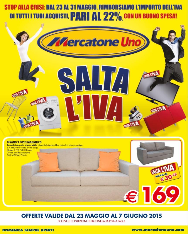 Volantino mercatone uno al 7 giugno 2015 volantino az for Mercatone uno divani