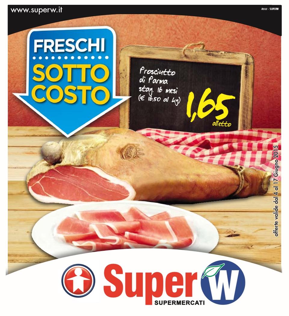 Volantino super w offerte 4 17 giugno 2015 volantino az for Volantino super conveniente misterbianco
