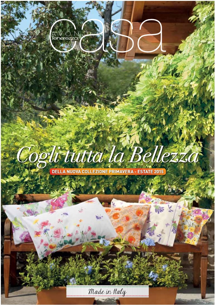 Avon catalogo casa primavera estate 2015 for Catalogo casa