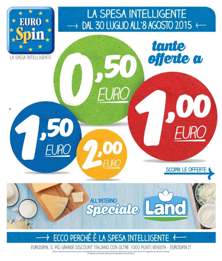 volantino eurospin offerte 8 agosto 2015 volantino az