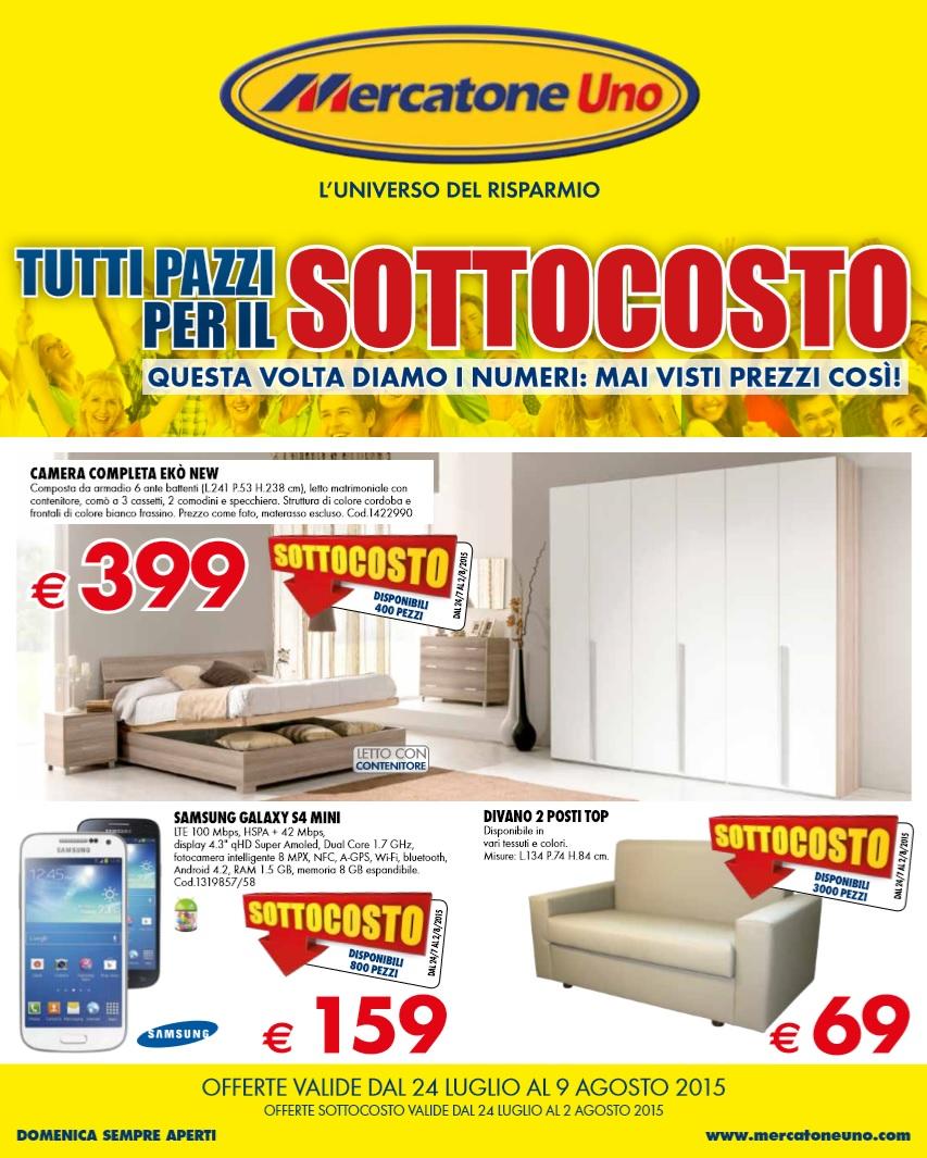 Volantino mercatone uno offerte 9 agosto 2015 volantino az - Offerte camere da letto mercatone uno ...