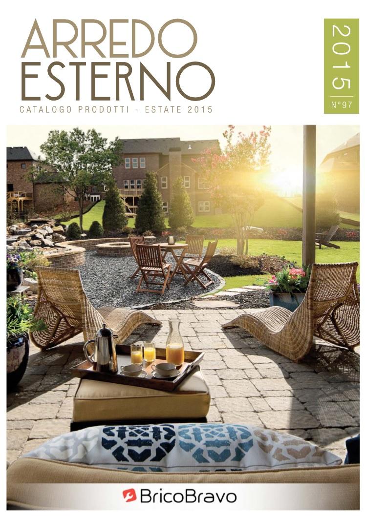 Volantino catalogo brico bravo arredo esterno estate for Offerte arredo giardino