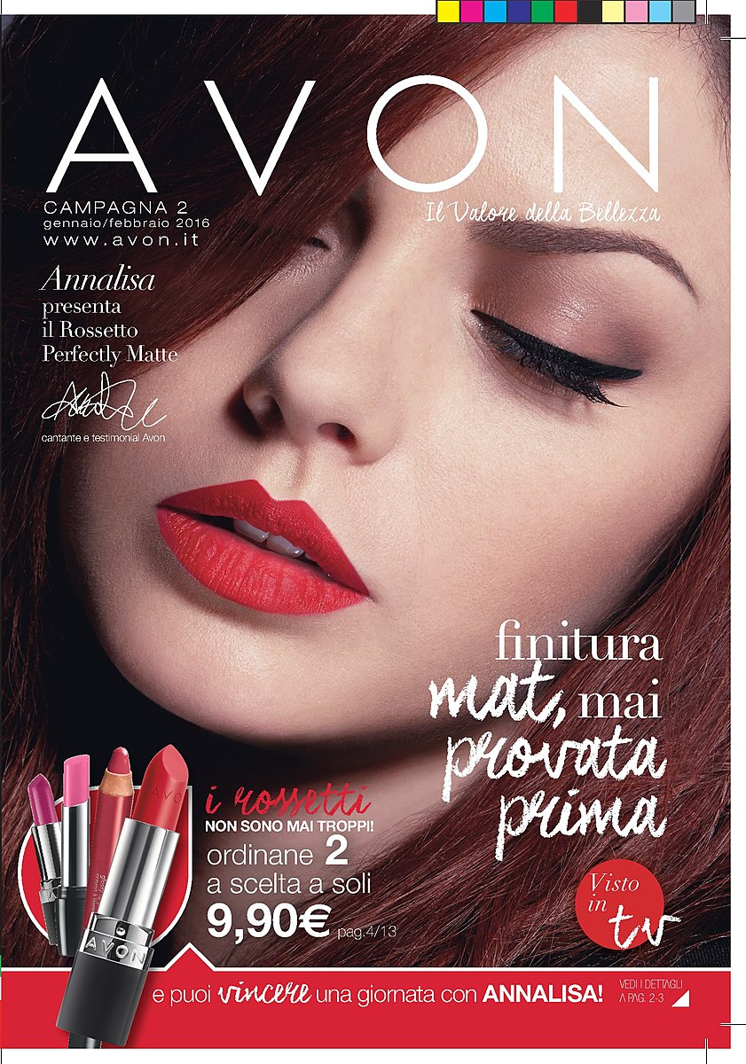 Catalogo Avon Campagna 2 2016
