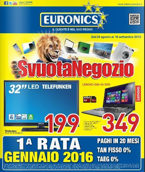 Volantino euronics offerte al 16 settembre 2015 volantino az - Volantino ricci casa ...