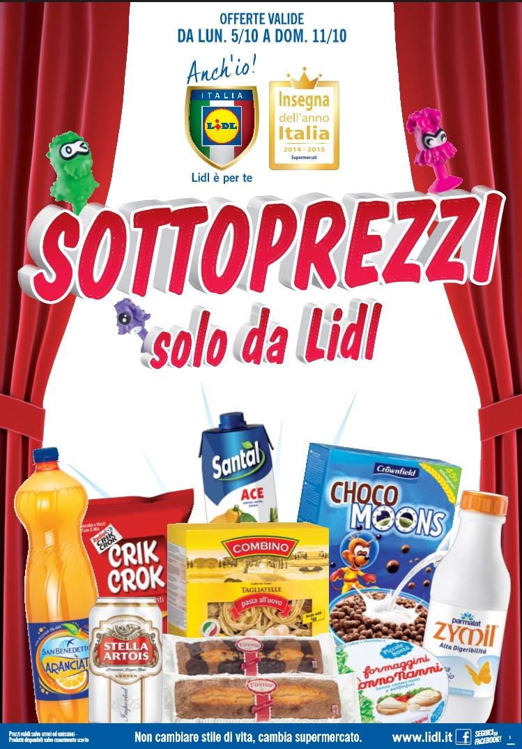 Volantino lidl offerte 5 11 ottobre 2015 volantino az - Volantino ricci casa ...
