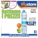 Big Store Offerte 12-21 Ottobre 2015