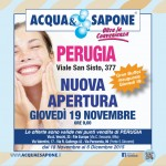 Acqua & Sapone 19 Novembre – 6 Dicembre 2015