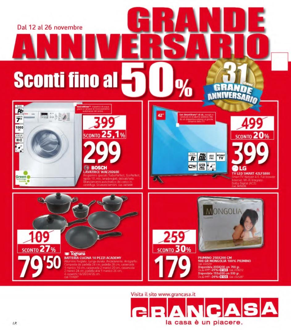 Volantino grancasa al 26 novembre 2015 volantino az - Grancasa spello offerte ...