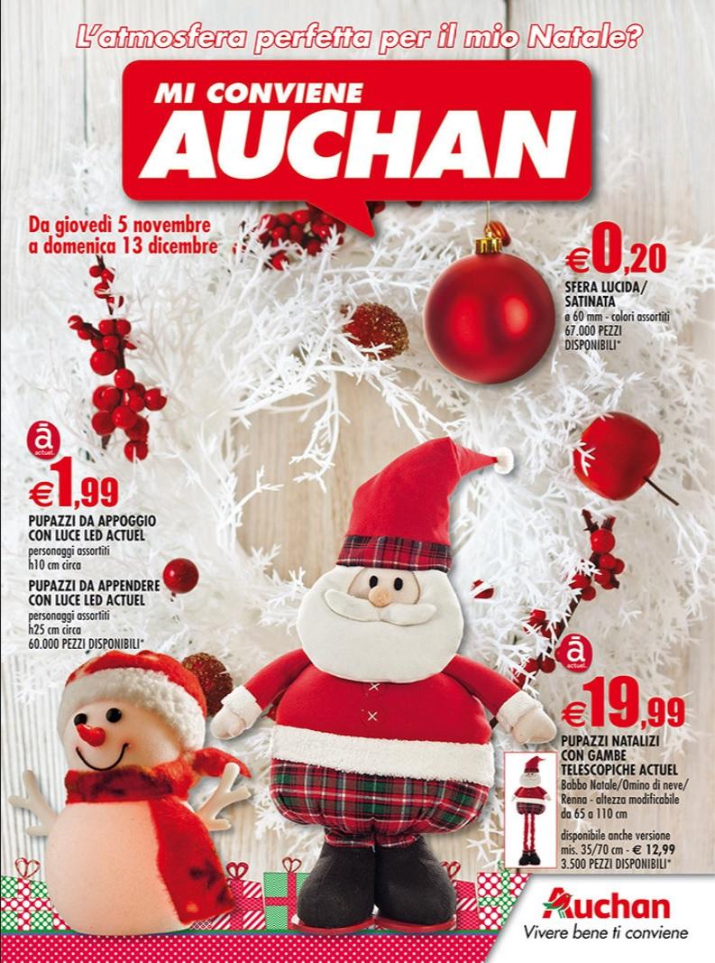 Volantino Auchan Deco Natale 13 Dicembre 2015 Volantino Az