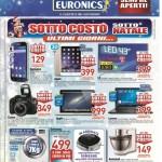 Euronics 18 Dicembre al 1 Gennaio 2016
