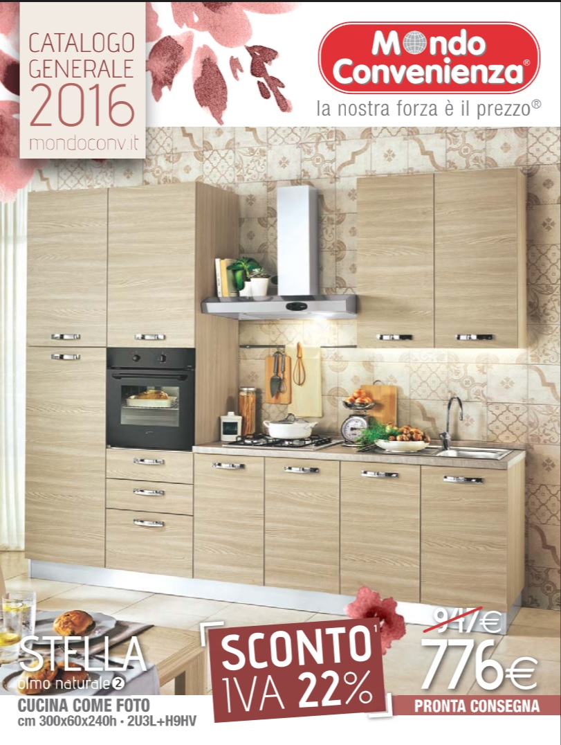 Catalogo Mondo Convenienza Cucine 2016
