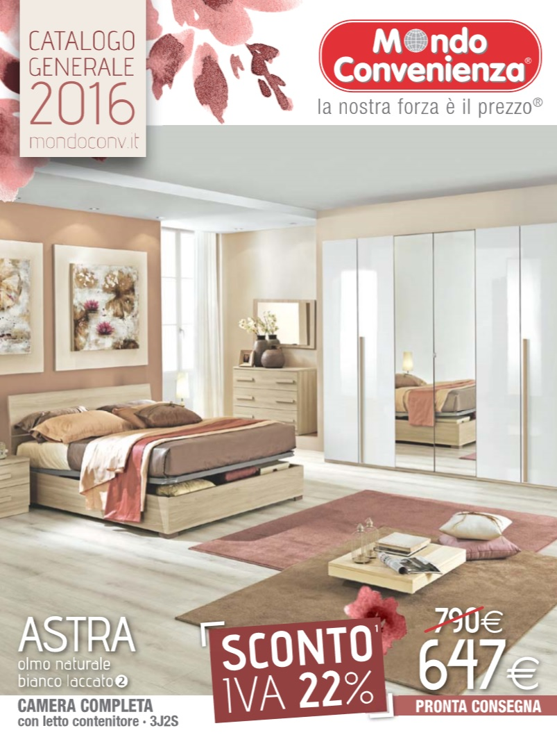 Catalogo mondo convenienza 2016 colonna porta lavatrice for Volantino mondo convenienza divani