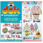 Dok Supermercati Pasqua 16-26 Marzo 2016