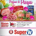 Super W Pasqua 17-30 Marzo 2016