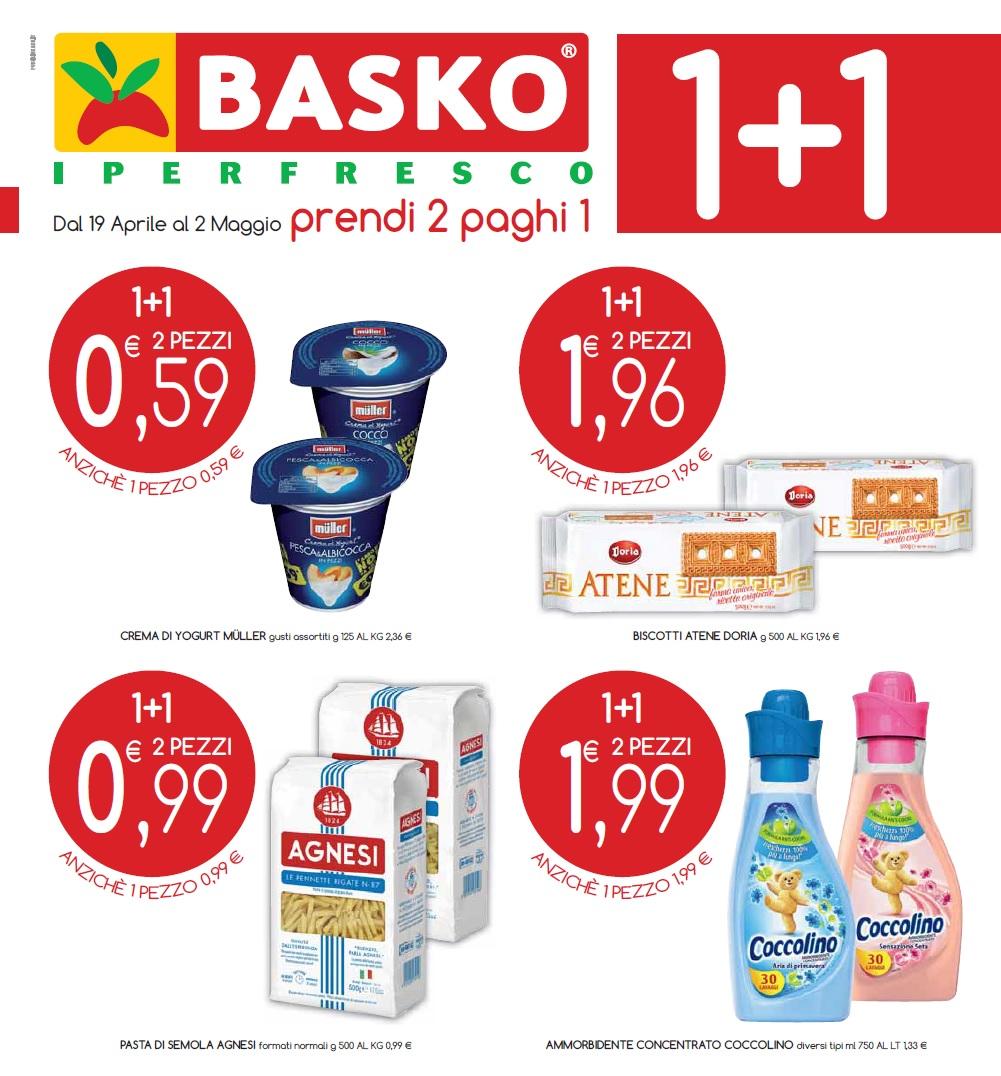 ac2ec3c532 Volantino Basko Iperfresco offerte valide dal 19 aprile al 02 maggio 2016