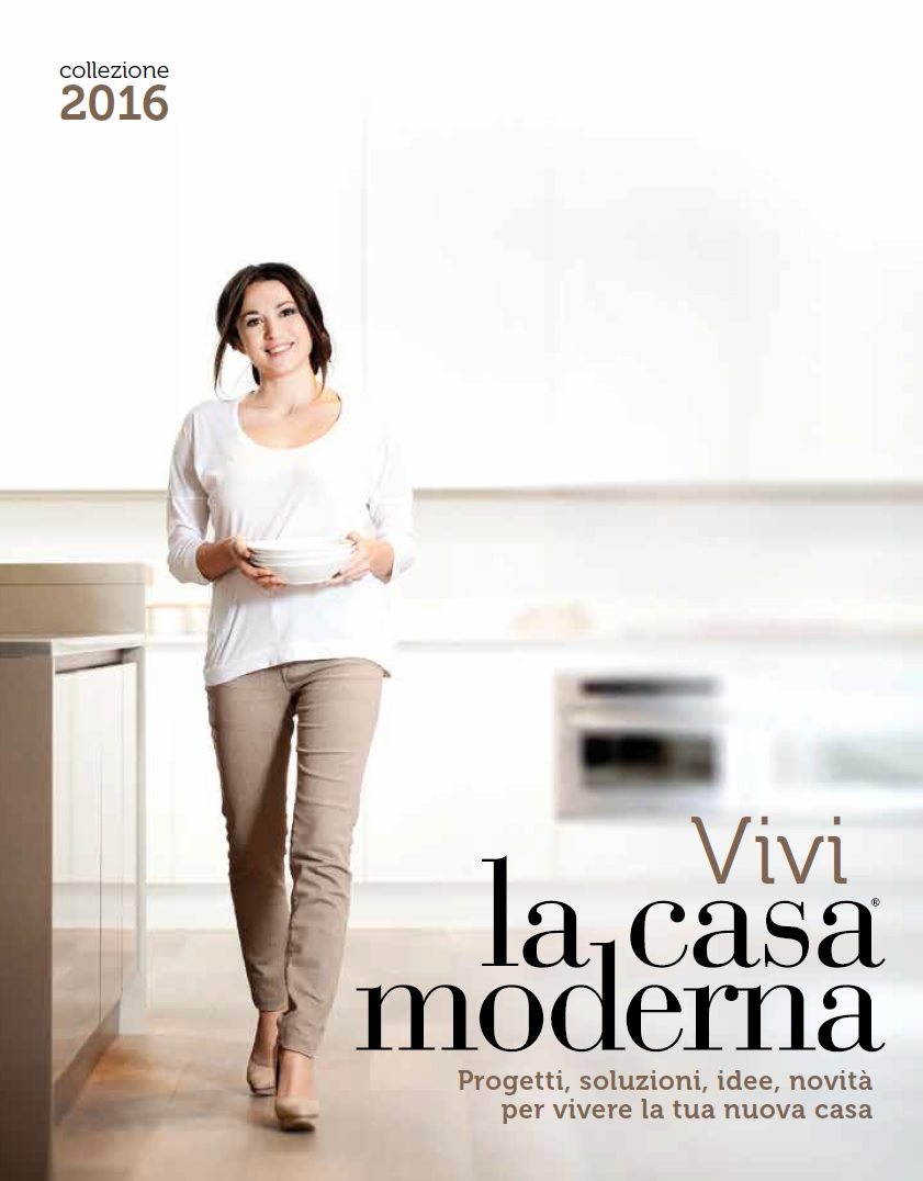 Catalogo la casa moderna collezione 2016 for Casa moderna 2016