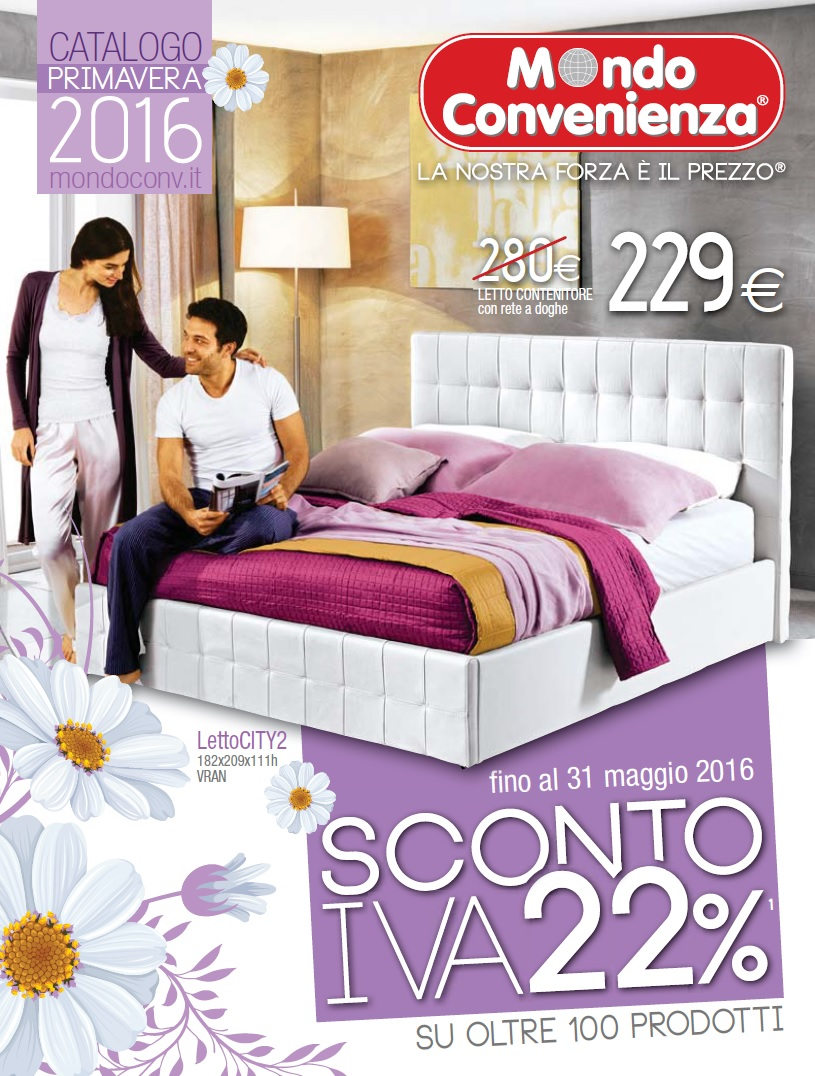 Volantino Catalogo Mondo Convenienza Primavera 2016 - Volantino-AZ