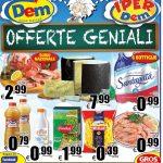 DEM Supermercati al 18 Aprile 2016