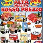 DEM Supermercati al 7 Aprile 2016