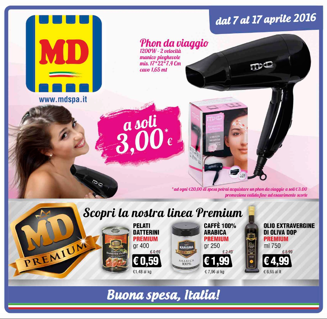 MD Discount Volantino offerte - Volantino-AZ