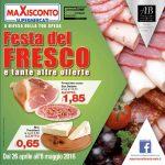 Maxisconto al 8 Maggio 2016