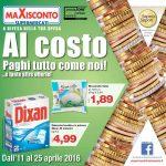Maxisconto 11-25 Aprile 2016