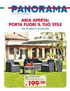 Volantino pam panorama arredo giardino offerte 18 maggio for Arredo giardino on line offerte