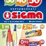 Sigma Supermercati 11-24 Aprile 2016