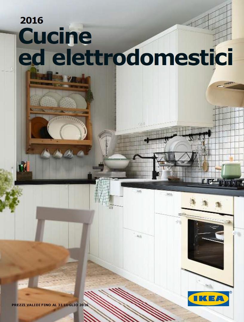 Catalogo ikea cucine ed elettrodomestici al 31 luglio 2016 - Elettrodomestici ikea ...
