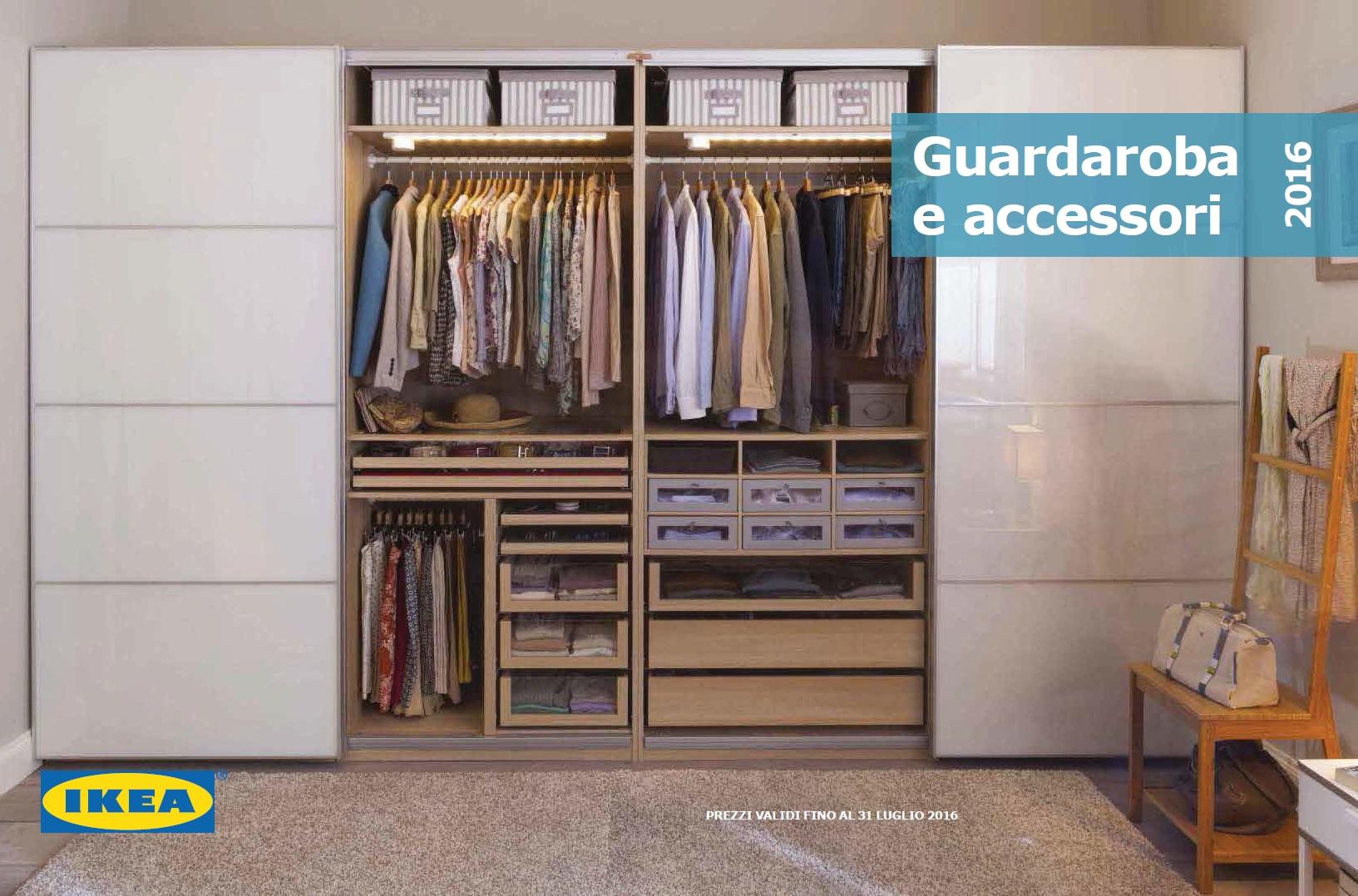 Catalogo ikea guardaroba e accesori al 31 luglio 2016 for Ikea guardaroba con ante scorrevoli