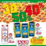A & O Supermercati 23 Maggio – 4 Giugno 2016