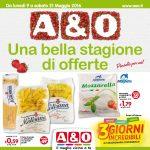 A & O Supermercati 9-21 Maggio 2016