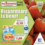 Maxisconto 9-22 Maggio 2016