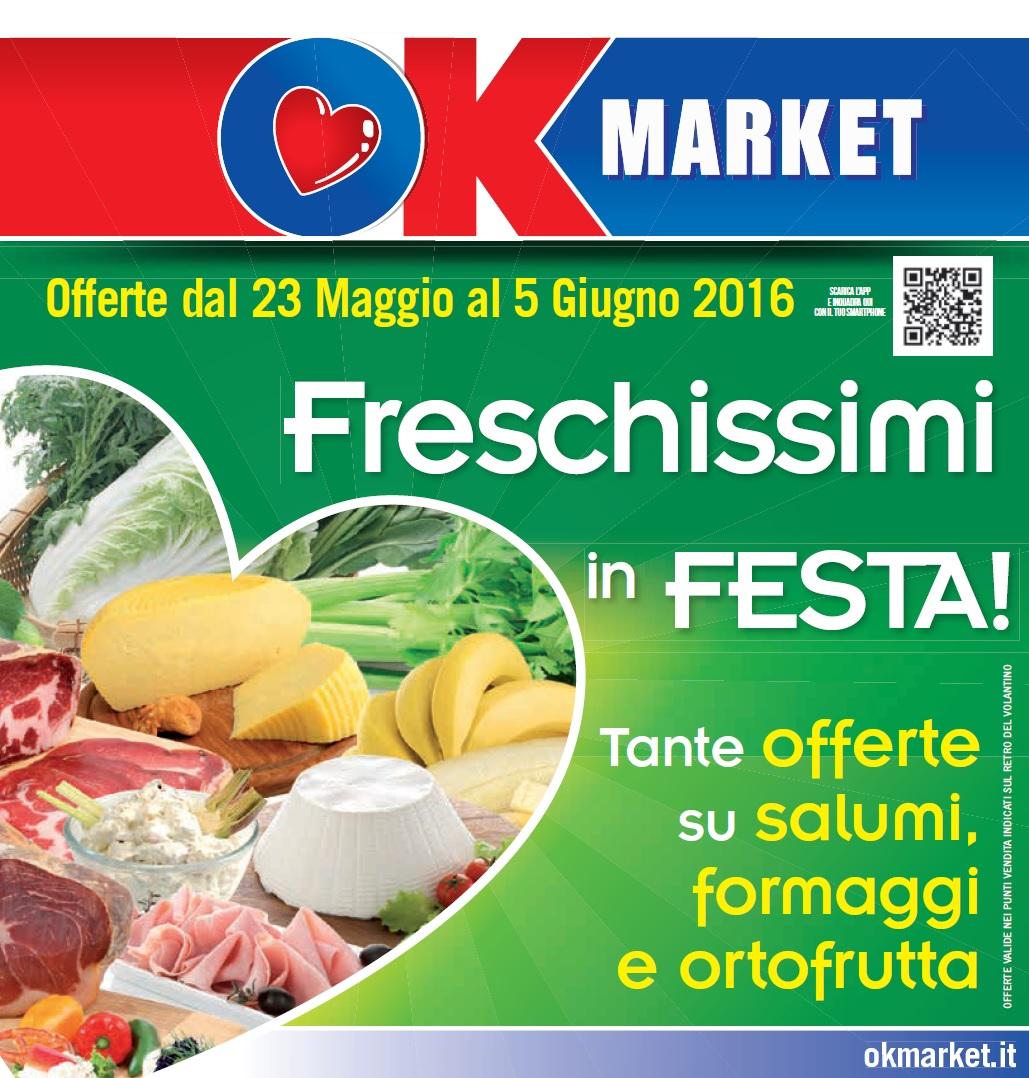Volantino ok market 23 maggio 5 giugno 2016 volantino az - Volantino ricci casa ...