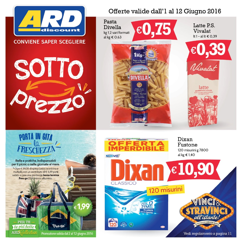 Volantino ard discount al 12 giugno 2016 volantino az for Volantino ard discount milazzo