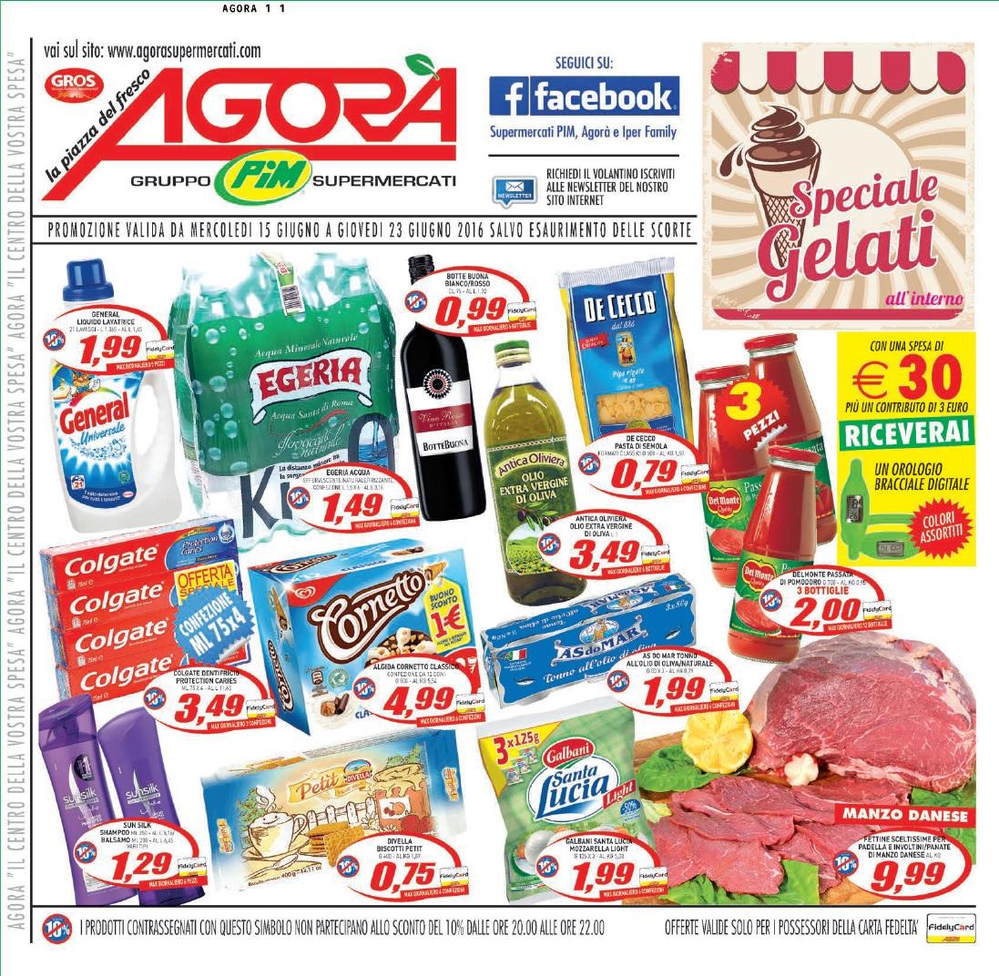 Volantino pim agora supermercati 15 23 giugno 2016 - Volantino ricci casa ...