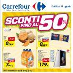Carrefour Sconti al 17 Agosto 2016