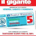 Il Gigante 5-21 Agosto 2016