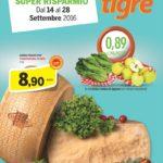 Tigre Supermercati al 28 Settembre 2016