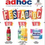 Catalogo Adhoc 3 Ottobre – 6 Novembre 2016