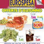 Eurospesa 4-15 Ottobre 2016