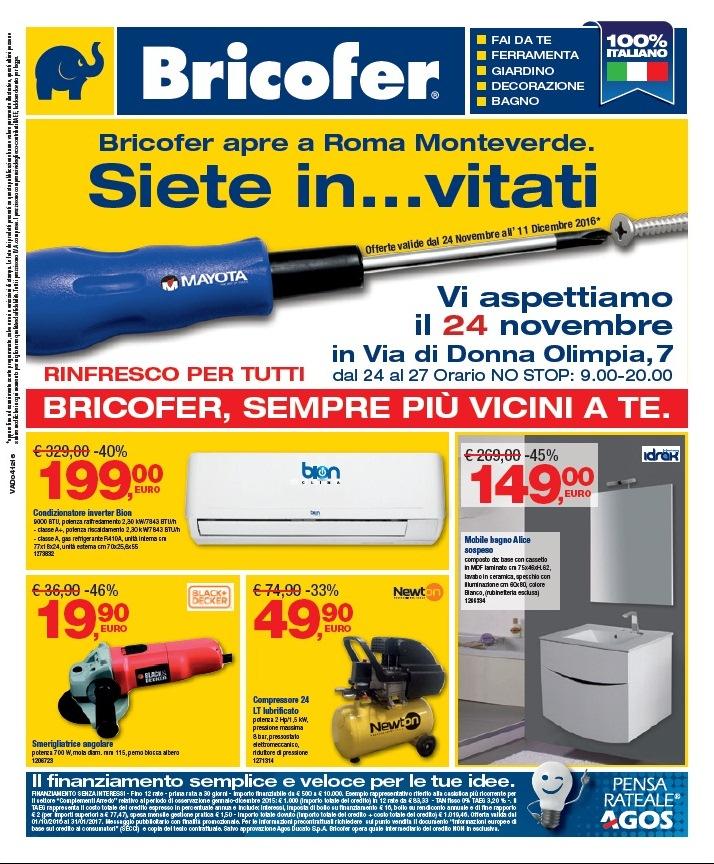 Catalogo bricofer offerte dicembre 2016 volantino az for Catalogo bricofer