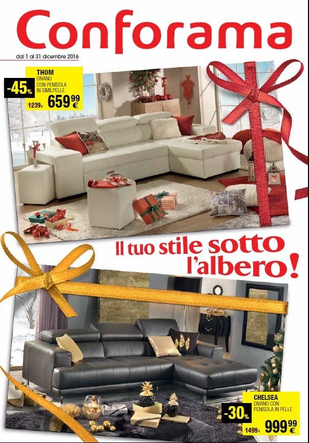 Catalogo conforama 1 31 dicembre 2016 volantino az - Divano prestige conforama ...