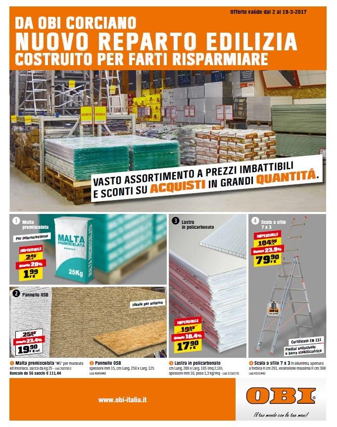Catalogo obi offerte 2 19 marzo 2017 volantino az - Obi bagno catalogo 2017 ...