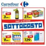 Carrefour Sottocosto al 10 Marzo 2017
