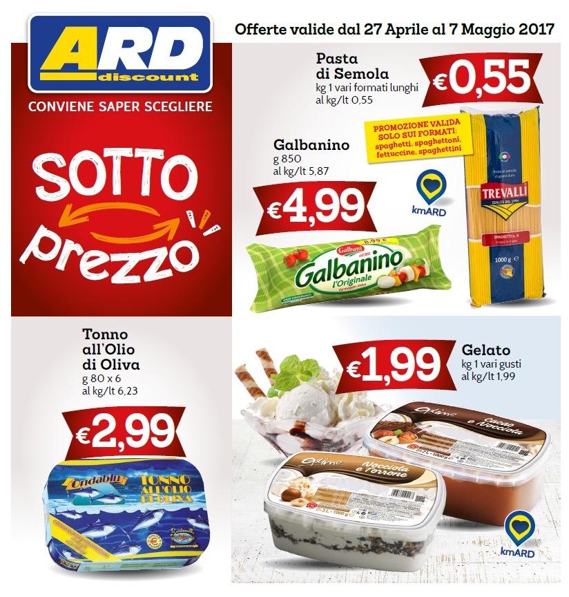 Volantino ard discount al 7 maggio 2017 volantino az for Volantino ard discount milazzo