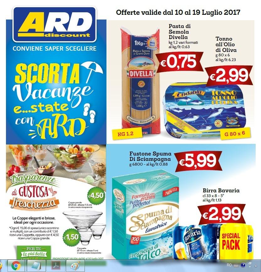 Volantino ard discount 10 19 luglio 2017 volantino az for Volantino ard messina