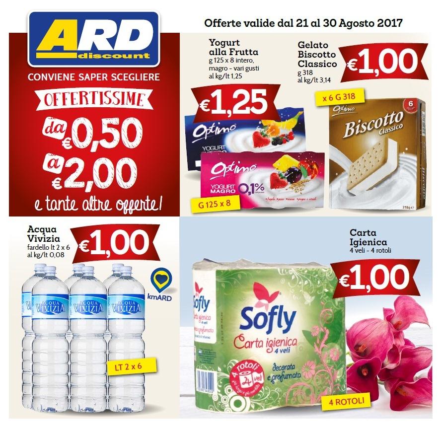 Volantino ard discount 21 30 agosto 2017 volantino az for Volantino ard discount milazzo