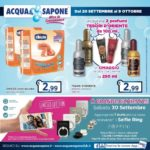 Acqua & Sapone 20 Settembre – 9 Ottobre 2017